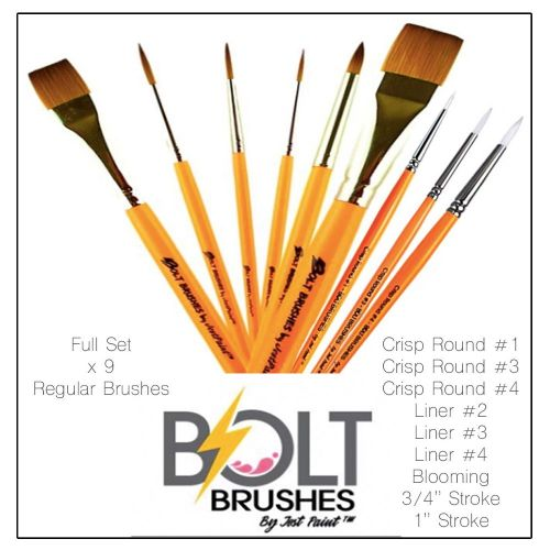 Complete Set of Standard BOLT Brushes